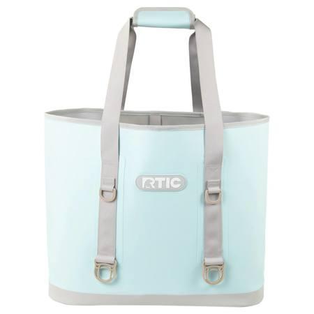 Large Tote Bag, Sky Blue Image