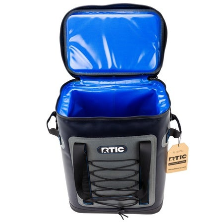Back Pack Cooler, Blue / Grey Image