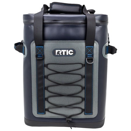 Back Pack Cooler, Blue / Grey, 2nd Gen Image