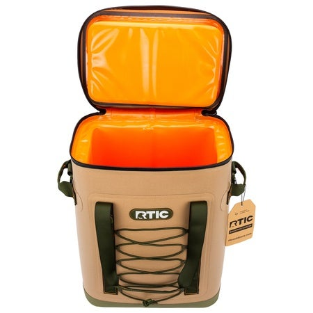 Back Pack Cooler, Tan Image