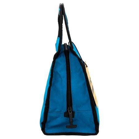 Handle Top Lunch Bag, Light Blue Image