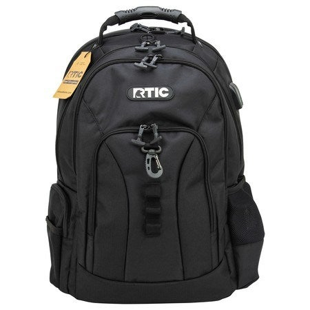 Summit Laptop Backpack, Black