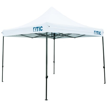 Canopy Tent, White & Navy