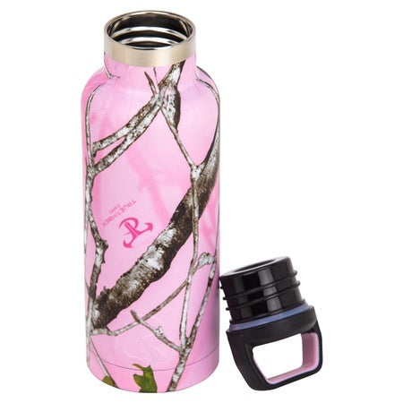 16oz Water Bottle, Pink Camo Image