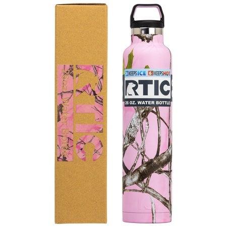 26oz Water Bottle, Pink Camo, Matte Image