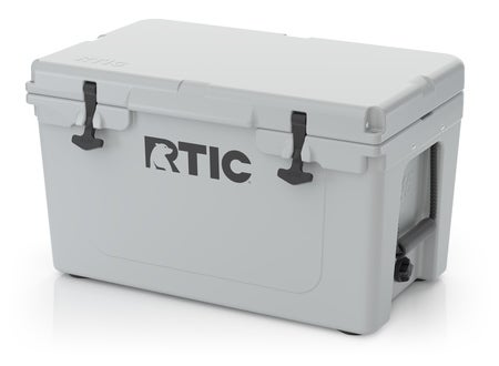 RTIC 45 Quart Hard Cooler, Grey Image
