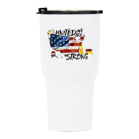 30oz Tumbler, United We Are Strong, Case of 30