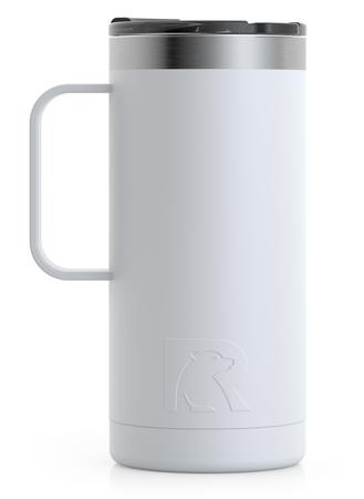16oz Travel Mug, Chalk, Matte Image