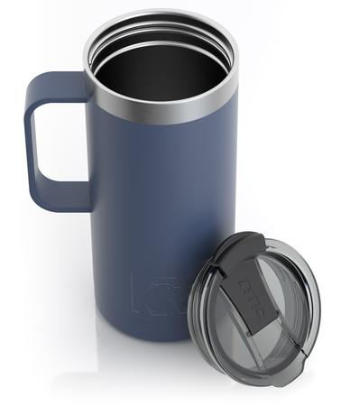 16oz Travel Mug, Freedom Blue, Matte Image