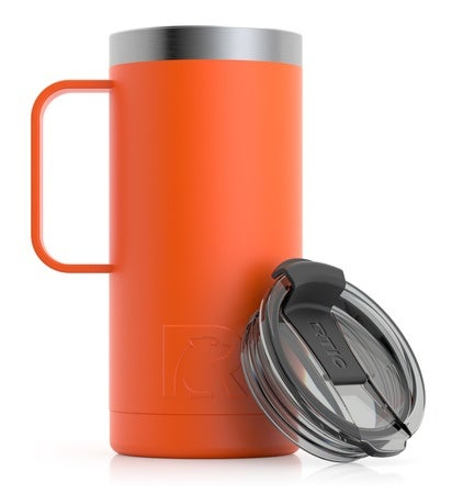 Travel Coffee Cup, Tangerine Image