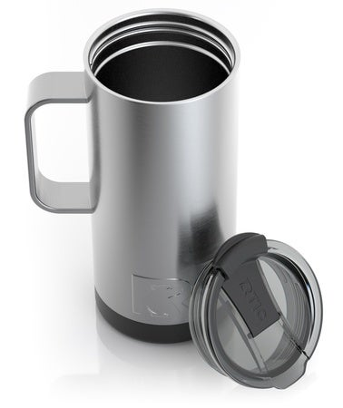 16oz Travel Mug, Stainless, Matte Image