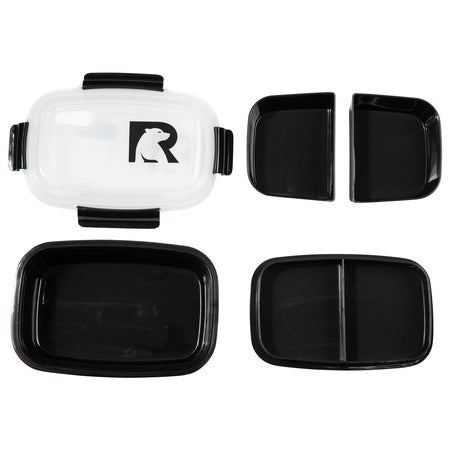 Lunch Container, Black Image