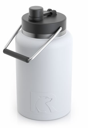 Half Gallon Jug, White, Matte Image