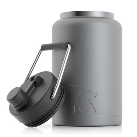 Half Gallon Jug, Graphite, Matte, Case of 16 Image