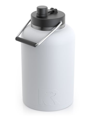 One Gallon Jug, White, Matte Image