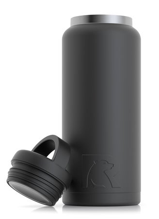 36oz Bottle, Black, Matte Image