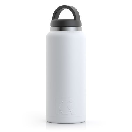 36oz Bottle, White, Matte Image