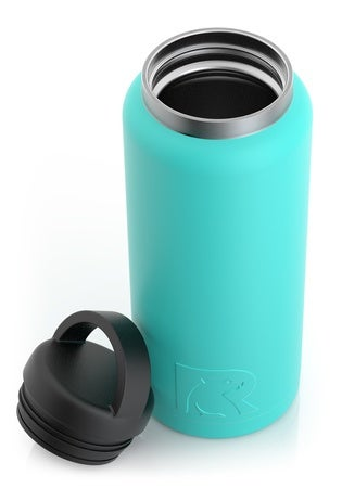 36oz Bottle, Teal, Matte Image