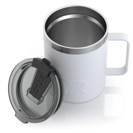 12oz Coffee Cup, White, Matte Image