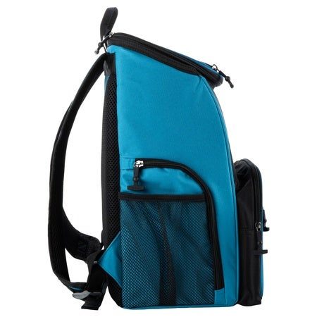 Backpack 15 Can Backpack, Light Blue & Black Image