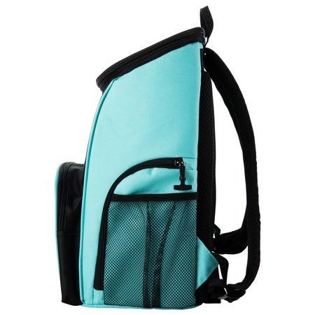Shop Backpack 15 Can Backpack Aqua Amp Black