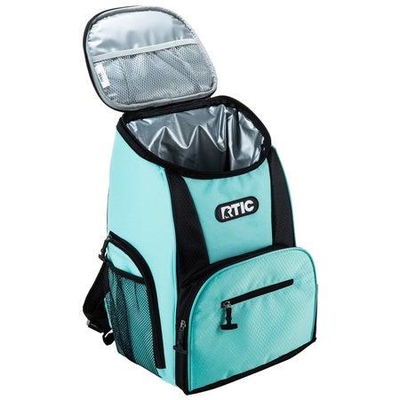 Backpack 15 Can Backpack, Aqua & Black Image