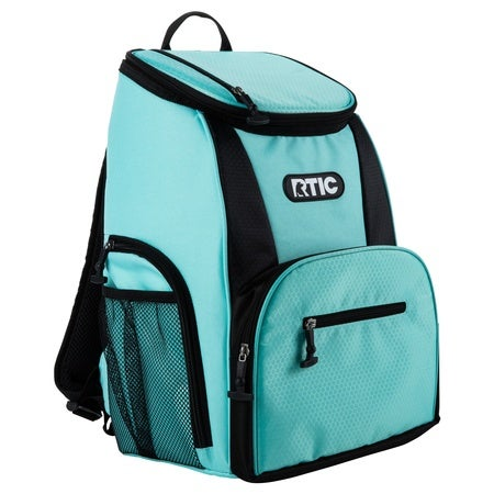 Backpack 15 Can Backpack, Aqua & Black Image