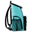 Backpack 15 Can Backpack, Aqua & Black Thumnail