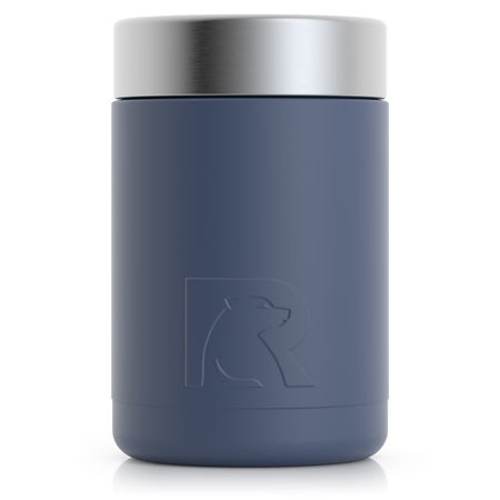 12oz Can, Freedom Blue, Matte Image