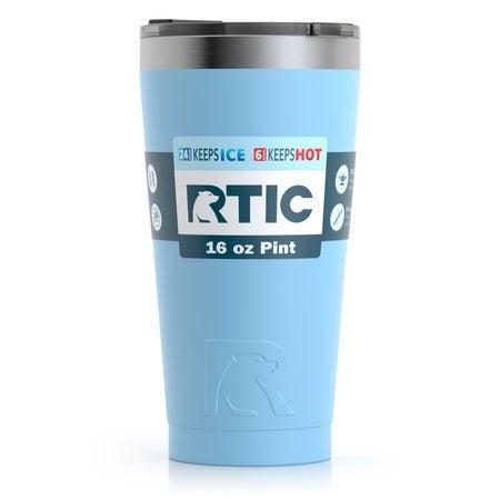 16oz Pint Tumbler, RTIC Ice, Matte Image