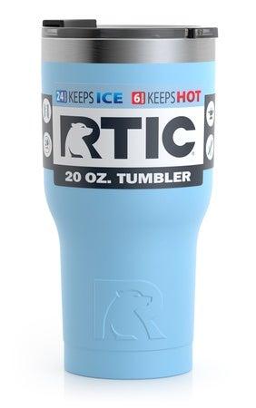 20oz Tumbler, RTIC Ice, Matte Image