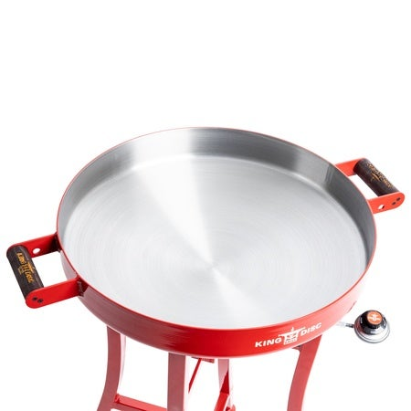 King Disc Grill by RTIC, Red Image