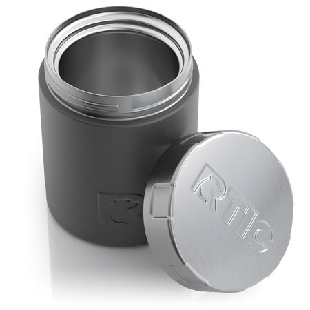 12oz Food Canisters, Charcoal Image