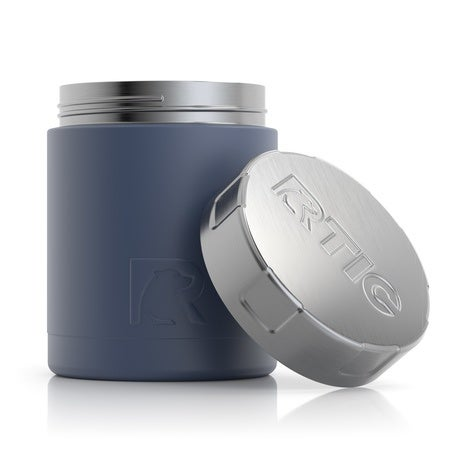 12oz Food Canisters, Freedom Blue Image