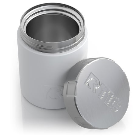 12oz Food Container, Chalk Image
