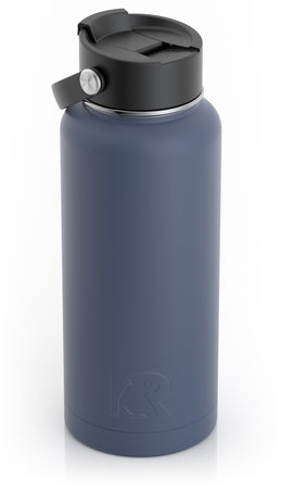 32oz Bottle, Freedom Blue, Matte Image
