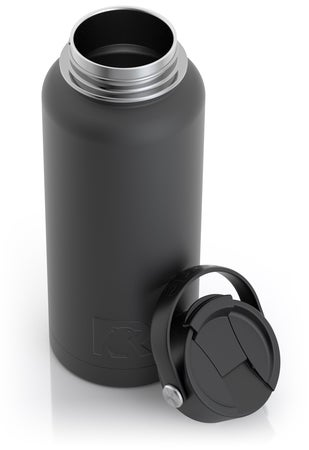 32oz Bottle, Charcoal, Matte Image