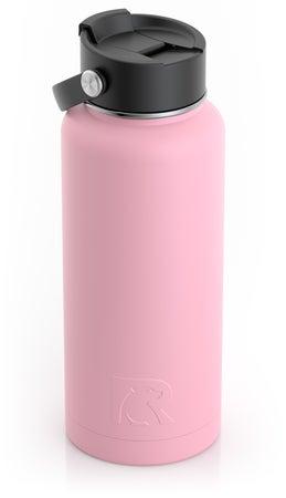 32oz Bottle, Flamingo, Matte Image