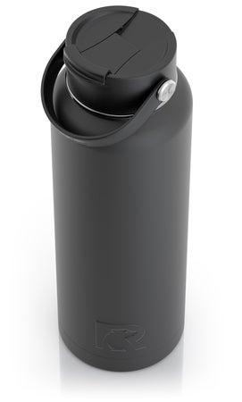 40oz Bottle, Charcoal, Matte Image