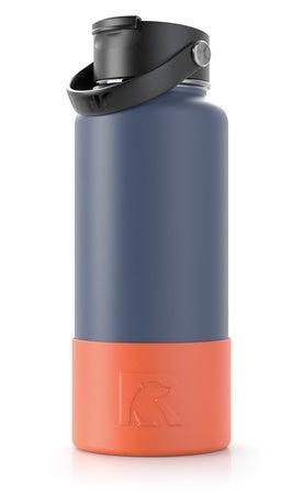 32 & 40 oz Bottle Boot, Tangerine, Matte Image
