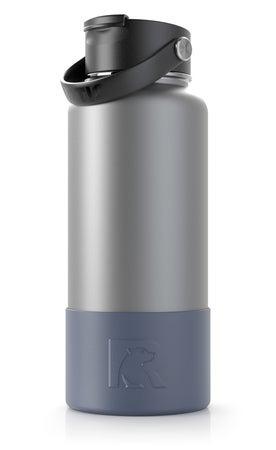 32 & 40 oz Bottle Boot, Freedom Blue, Matte Image