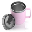 12oz Travel Mug, Flamingo, Matte Thumnail