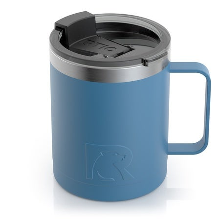12oz Coffee Mug, Slate Blue, Matte Image
