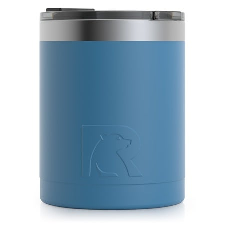 12oz Lowball Tumbler, Slate Blue, Matte, Case of 48 Image