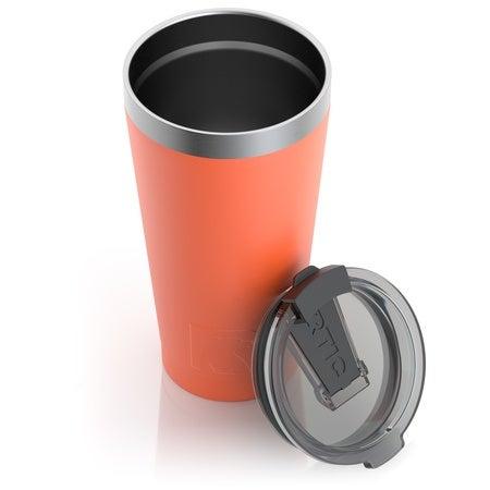 16oz Pint Tumbler, Orange, Matte Image