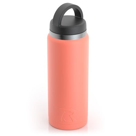 26oz Bottle, Coral, Matte Image