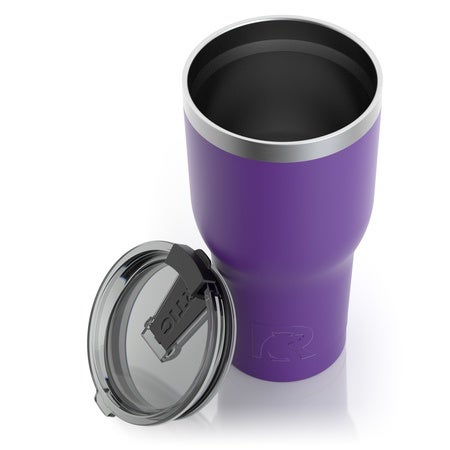 30oz Tumbler, Majestic Purple, Matte Image