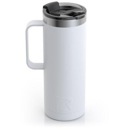 20oz Travel Mug, Chalk, Matte Image