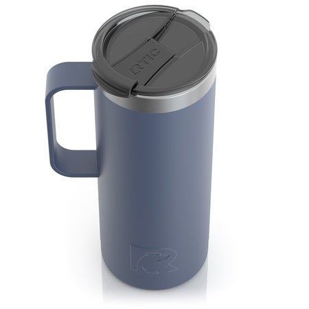 20oz Travel Mug, Freedom Blue, Matte Image