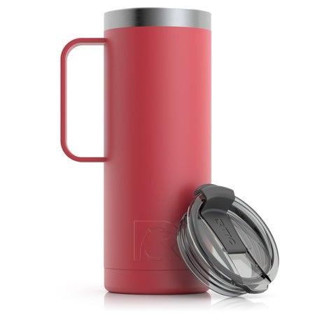 20oz Travel Mug, Brick, Matte Image